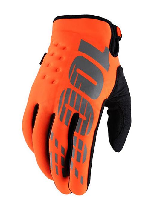 100% Crosshandschoenen Brisker - Jeugd - Oranje