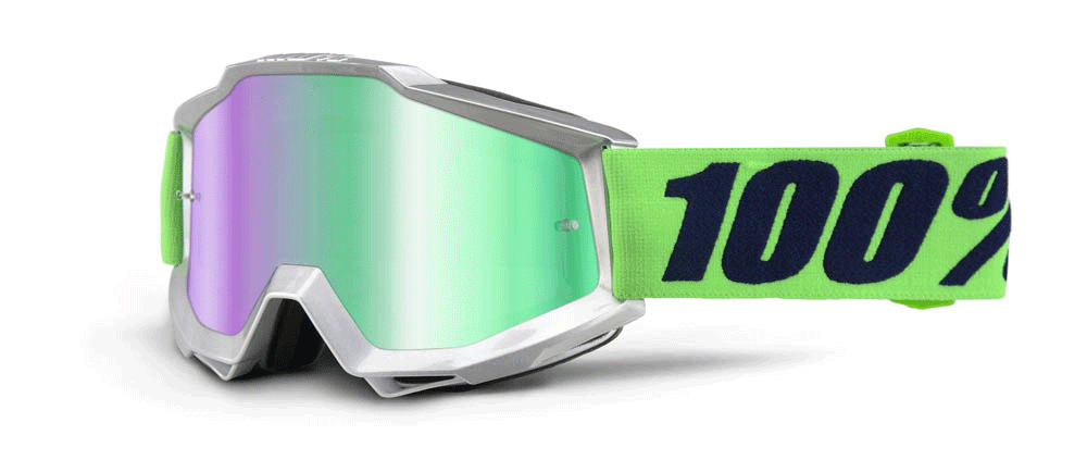 100% Crossbril Accuri Nova - Mirror Green Lens