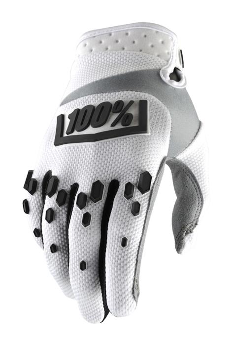 100% Crosshandschoenen Airmatic - Wit / Zwart