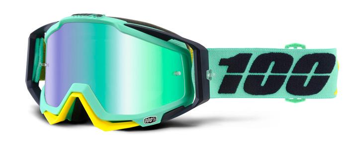 100% Crossbril Racecraft Kloog - Mirror Lens