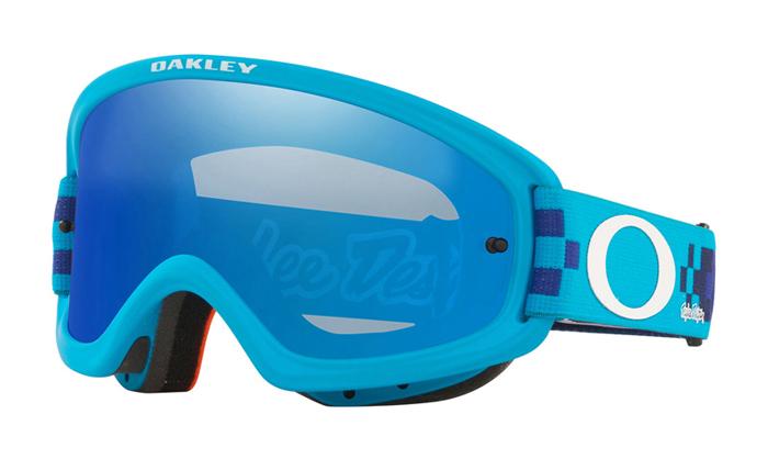Oakley Crossbril XS O-frame 2.0 TLD Checkerboard Blue - Black Ice Iridium Lens