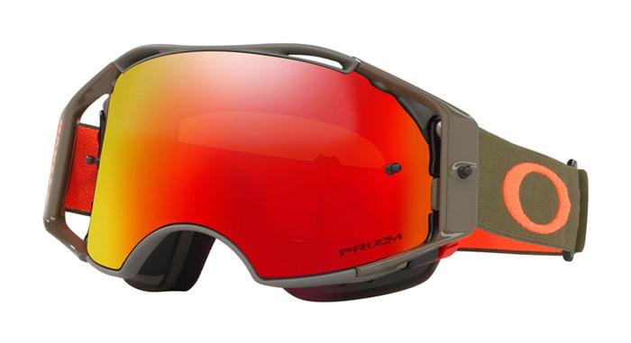 Oakley Crossbril Aibrake MTB Dark Brush Orange - Prizm Torch Lens