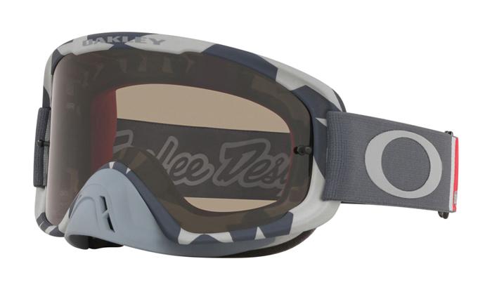 Oakley Crossbril O-frame 2.0 TLD Low VIS Grey - Dark Grey Lens