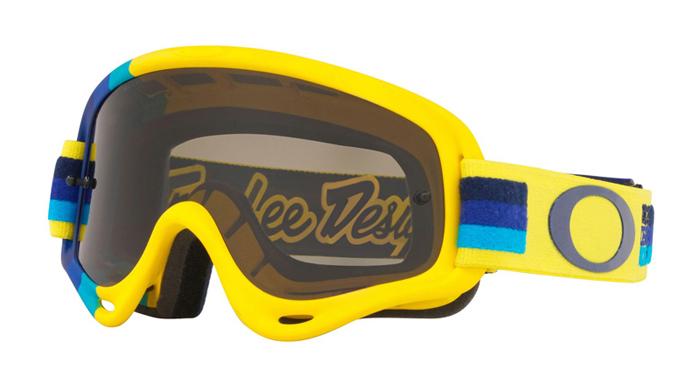 Oakley Crossbril XS O-frame TLD Yellow Blue - Dark Grey Lens