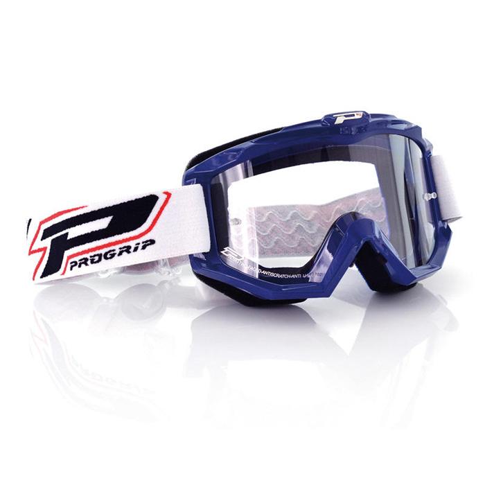 Progrip Crossbril 3201 Atzaki Race Line - Blauw