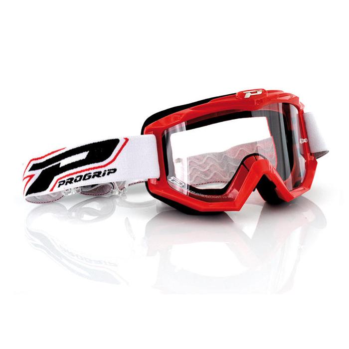 Progrip Crossbril 3201 Atzaki Race Line - Rood