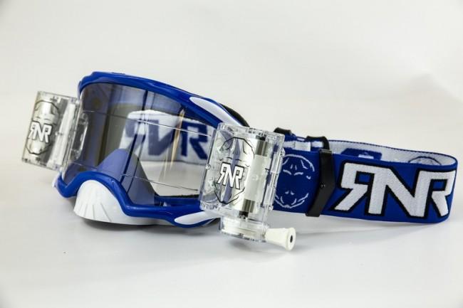 RNR Crossbril Racerpack Platinum - Blauw