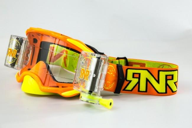 RNR Crossbril Racerpack Platinum - Oranje