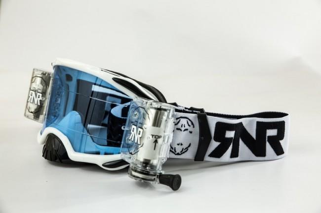 RNR Crossbril Racerpack Platinum - Wit