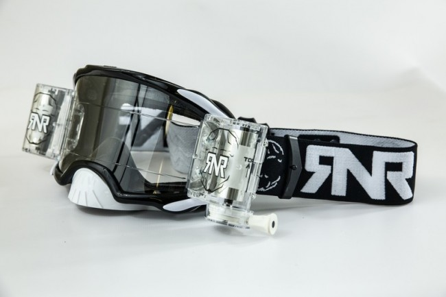RNR Crossbril Racerpack Platinum - Zwart