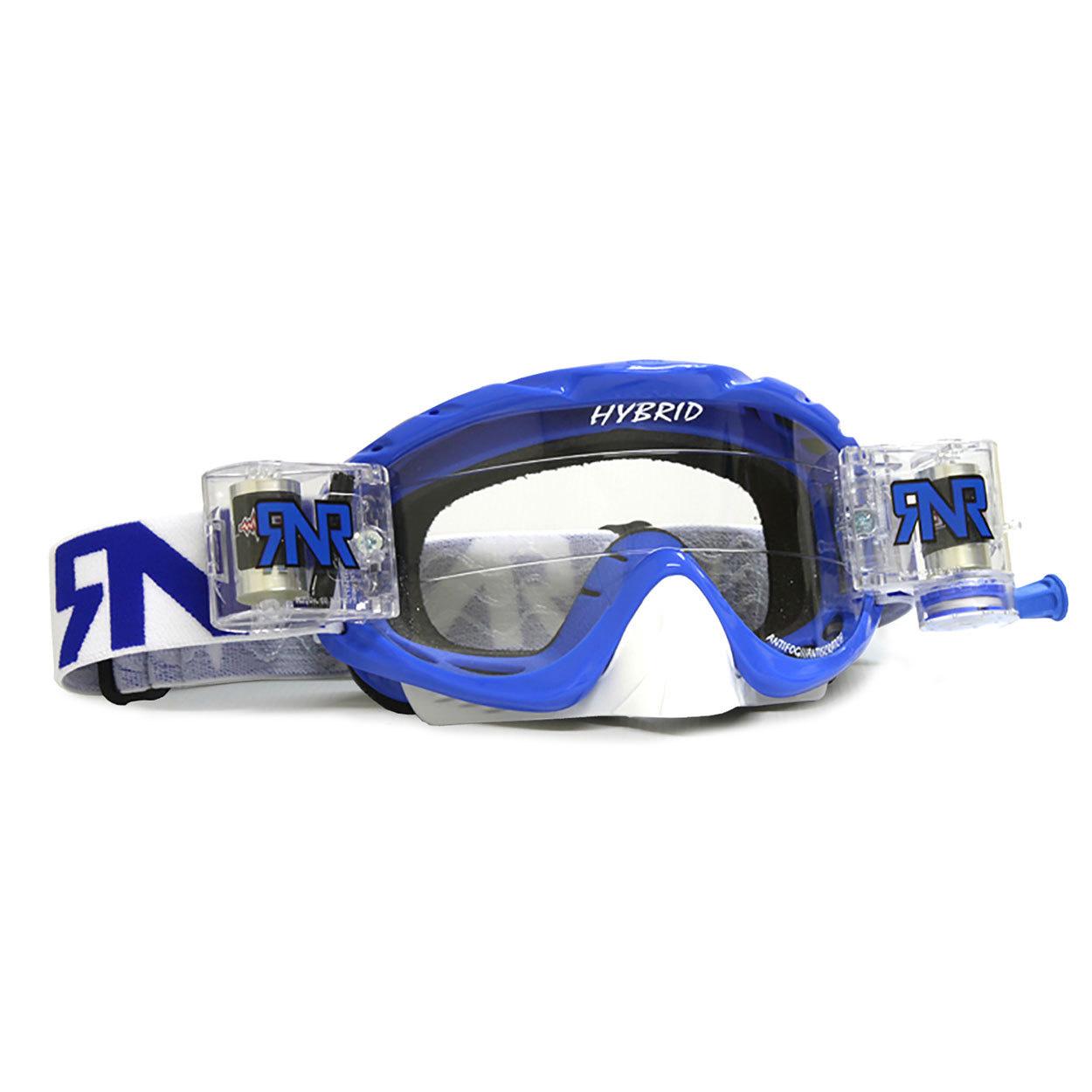 RNR Crossbril Racerpack Hybrid - Nobo Blauw