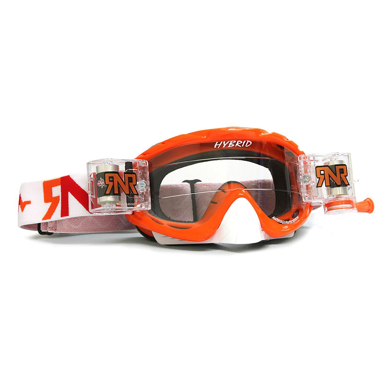 RNR Crossbril Racerpack Hybrid - Seville Oranje