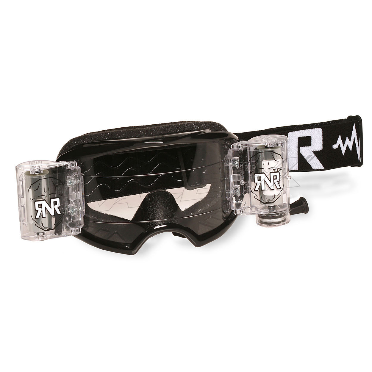 RNR Crossbril WVS Racerpack Colossus 50MM - Zwart