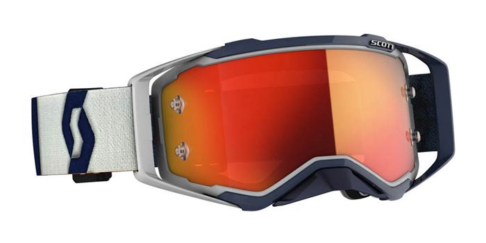Scott Crossbril Prospect - Grijs / Donker Blauw - Spiegel Lens