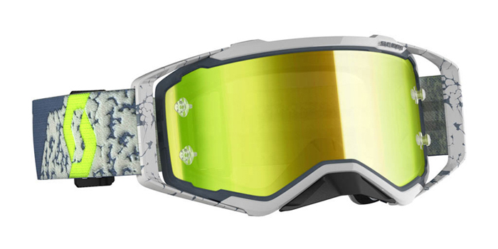 Scott Crossbril Prospect - Grijs - Spiegel Lens