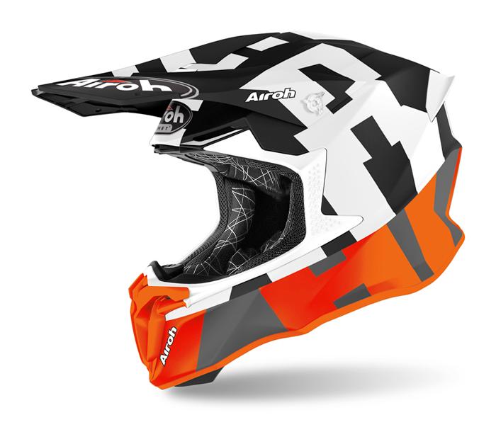 Airoh Crosshelm Twist 2.0 Frame - Mat Fluo Oranje