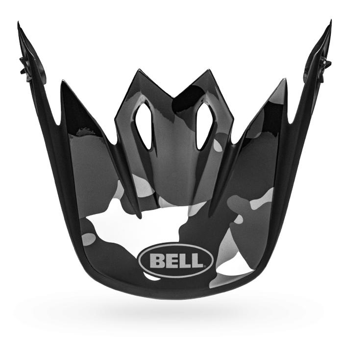 Bell Helmklep MX-9 Mips Presence - Zwart / Titanium / Camo