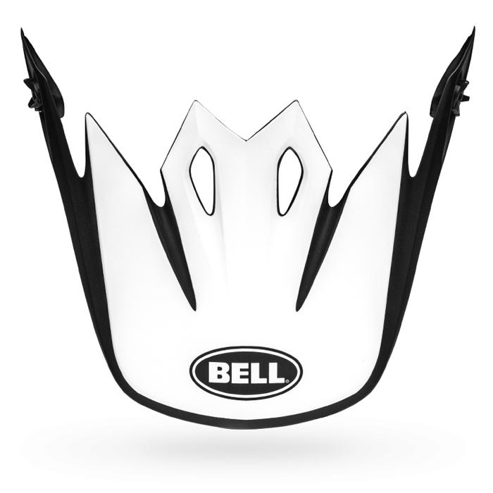 Bell Helmklep MX-9 Mips Presence - Zwart / Wit / Rood
