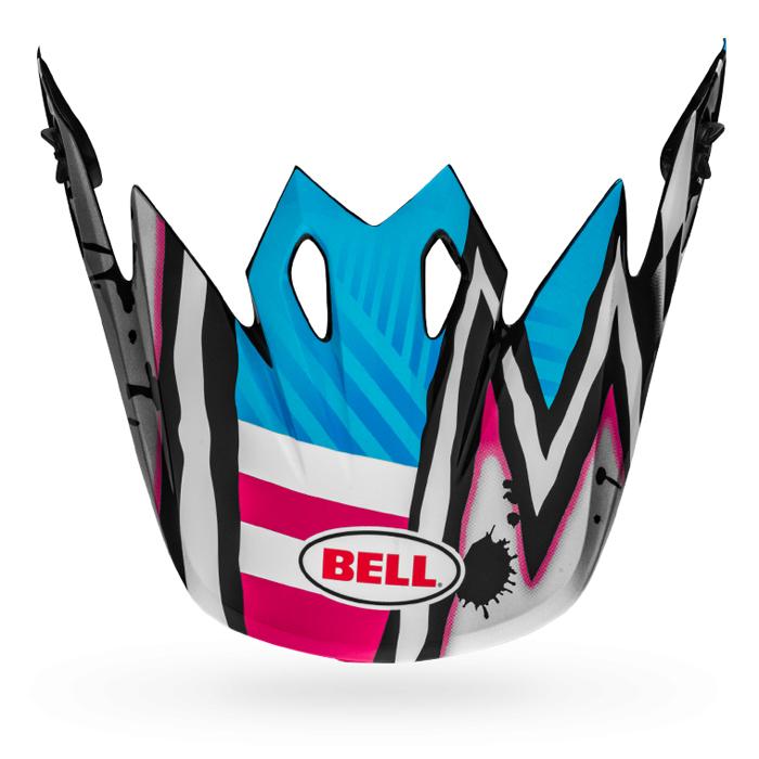 Bell Helmklep MX-9 Mips Tagger Asymmetric - Blauw / Roze