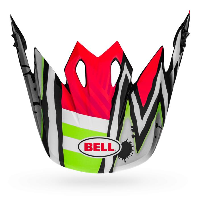 Bell Helmklep MX-9 Mips Tagger Asymmetric - Roze / Groen