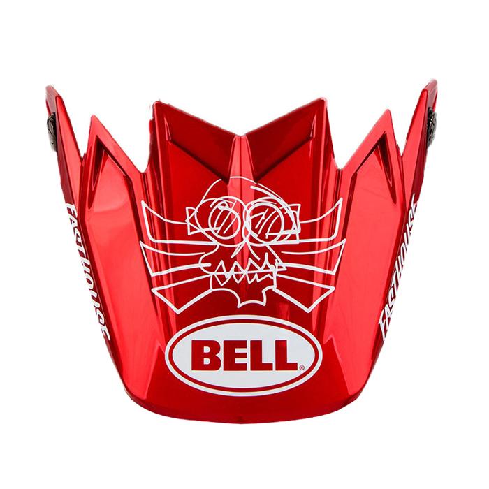 Bell Helmklep Moto-9 Flex Fasthouse DITD 21 - Mat Navy / Glans Rood