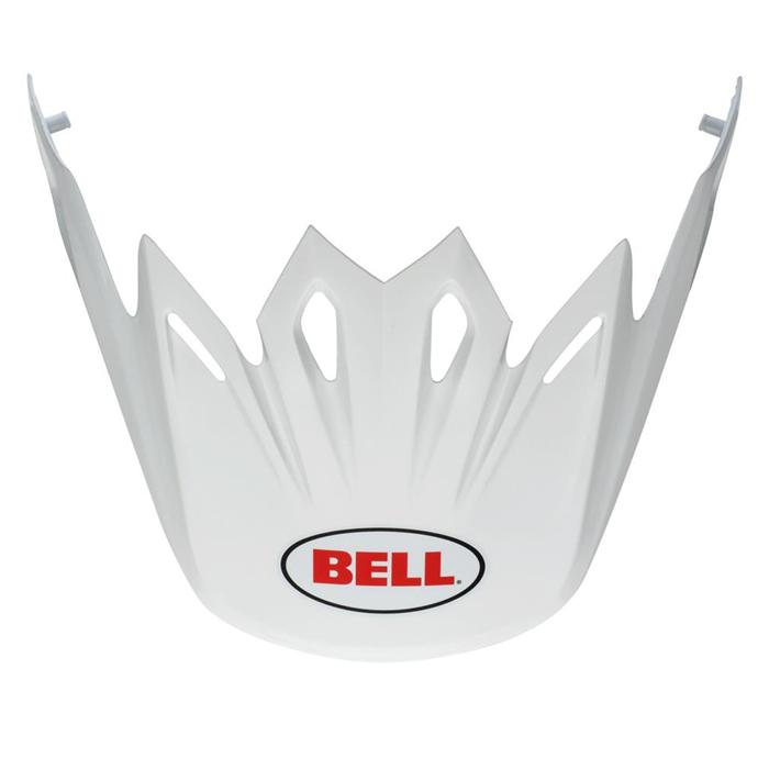 Bell Helmklep Moto-9 Flex Solid - Wit