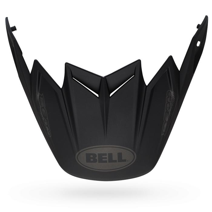 Bell Helmklep Moto-9 Flex Syndrome - Mat Zwart