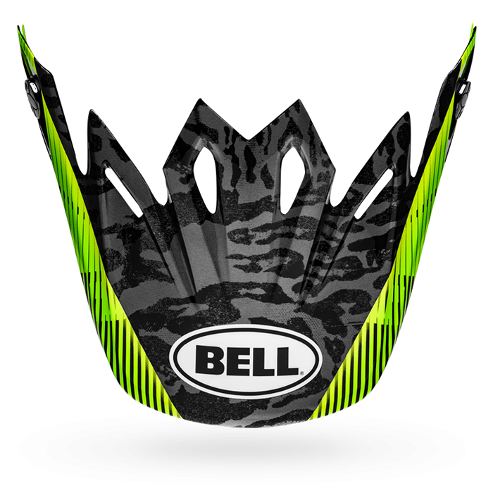 Bell Helmklep Moto-9 Mips Chief - Zwart / Wit / Groen