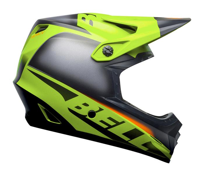 Bell Kinder Crosshelm Moto-9 Glory - Groen / Zwart / Infrarood