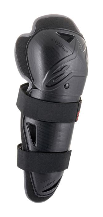 Alpinestar Kinder Kniebeschermers Bionic Action - Zwart / Rood