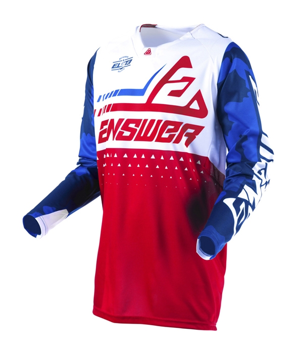 Answer Cross Shirt 2019 Elite Discord - Rood / Wit