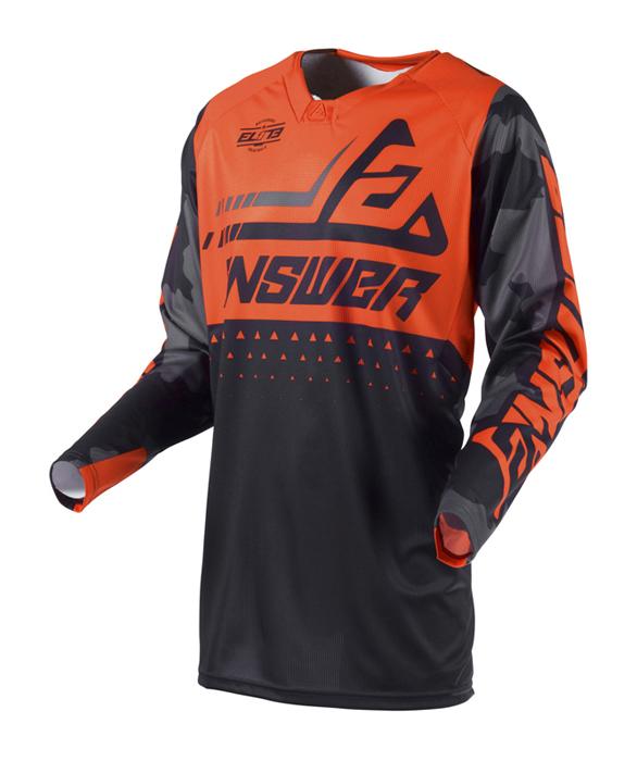 Answer Cross Shirt 2019 Elite Discord - Zwart / Oranje