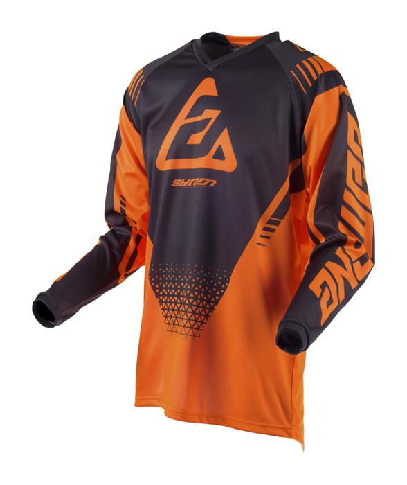 Answer Cross Shirt 2019 Syncron Drift - Flo Oranje / Charcoal