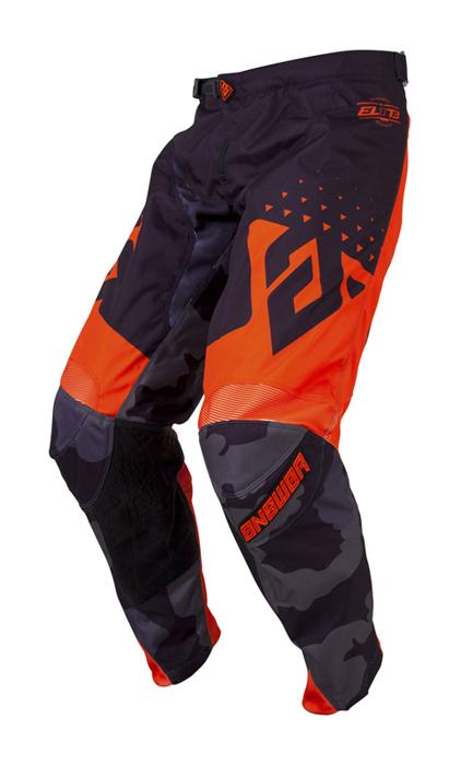 Answer Crossbroek 2019 Elite Discord - Zwart / Oranje