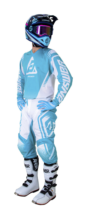 Answer Crosskleding 2019 Syncron Air Drift - Wit / Astana