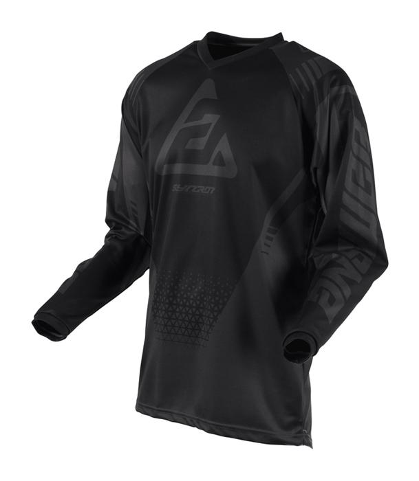 Answer Kinder Cross Shirt 2019 Syncron Drift - Charcoal / Zwart