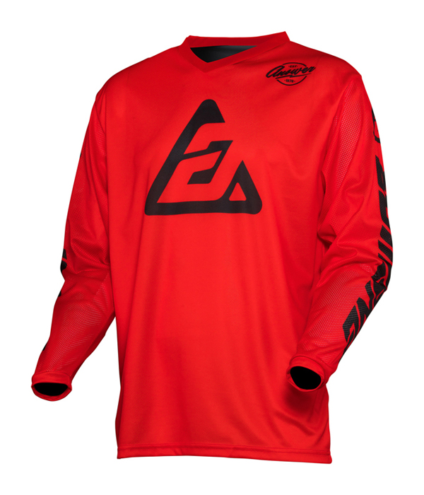 Answer Cross Shirt 2020 Arkon Bold - Rood / Zwart