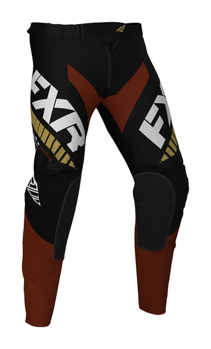 FXR Crossbroek 2021 Revo - Zwart / Rust / Goud