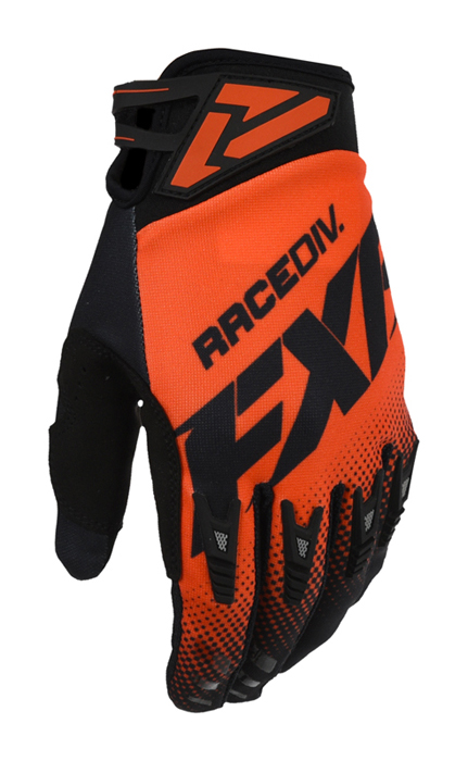 FXR Crosshandschoenen 2021 FR Adjustable - Nuke Rood / Zwart