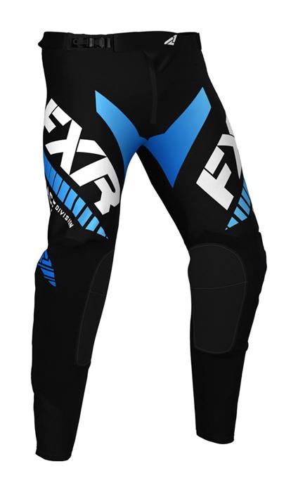 FXR Kinder Crossbroek 2021 Revo - Zwart / Blauw