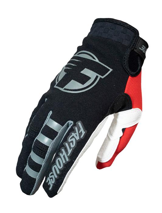 Fasthouse Crosshandschoenen 2021 Speed Style Howler - Zwart / Rood