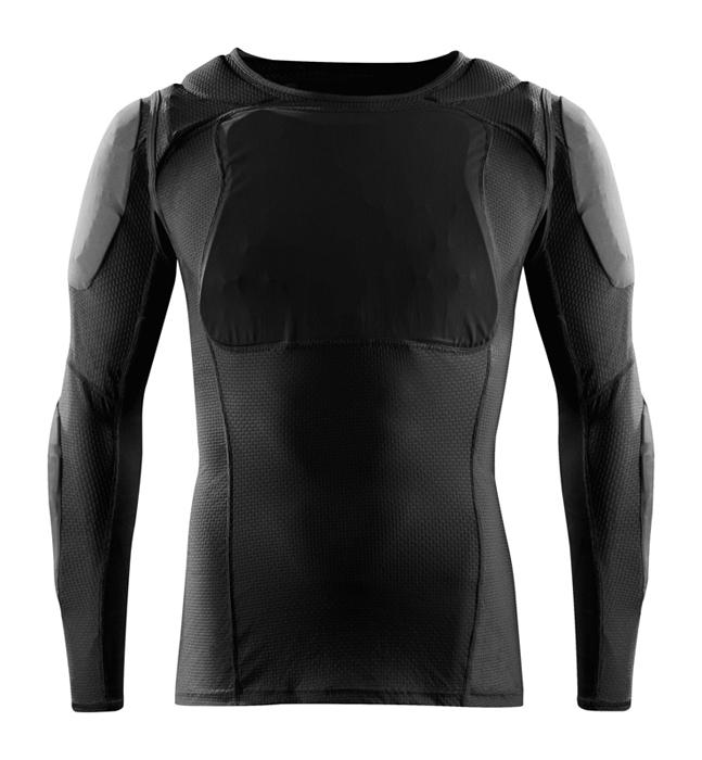 Fox Beschermings Shirt Lang Base Frame D30 - Zwart