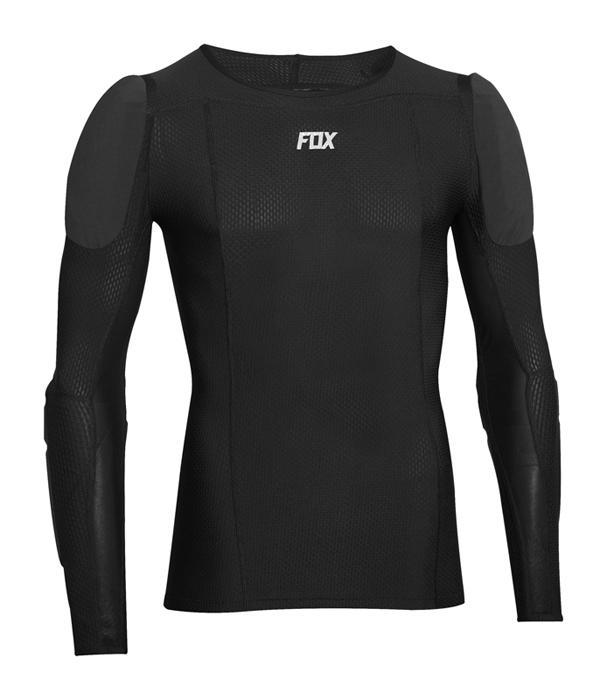 Fox Beschermings Shirt Lang Base Frame Pro D30 - Zwart