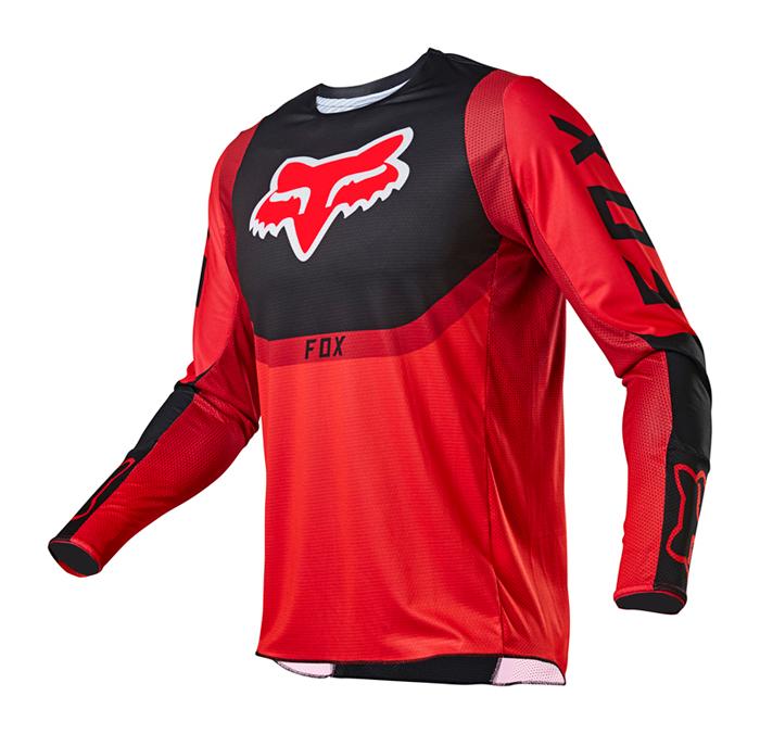Fox Cross Shirt 2021 360 Voke - Fluo Rood