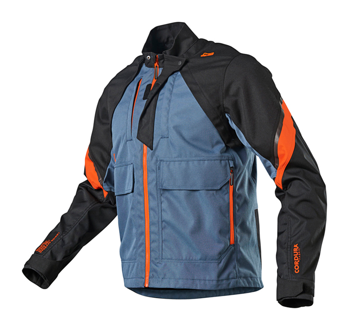 Fox Enduro Jas Legion - Blauw Steel