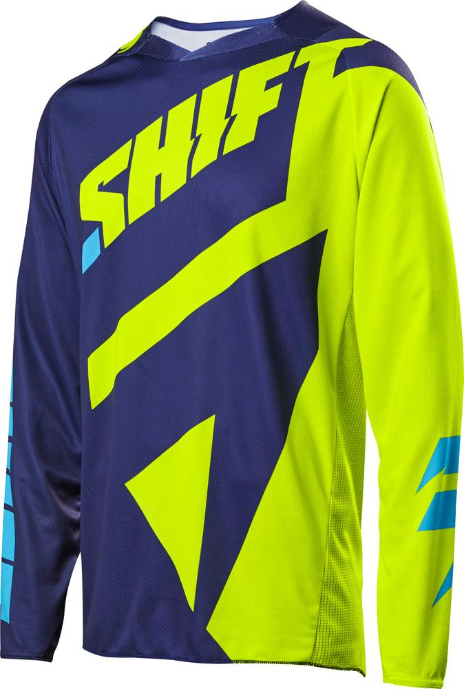 Shift Cross Shirt 2017 3lack Mainline - Flo Geel XL