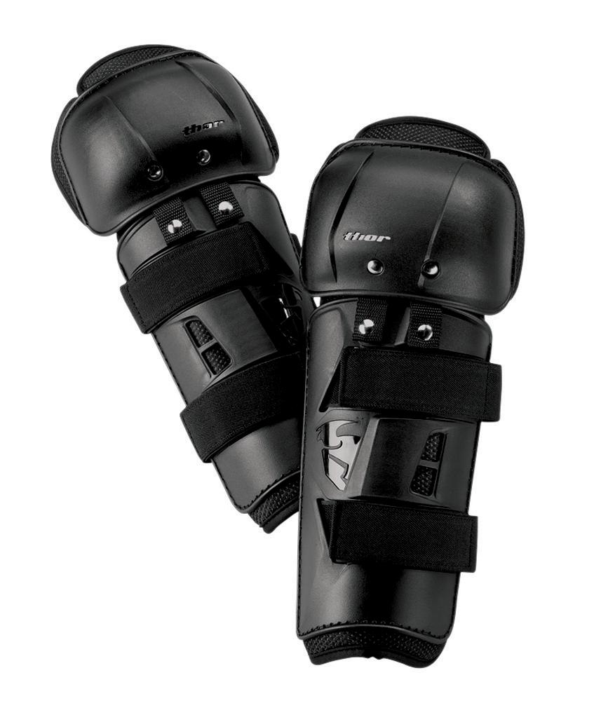 Thor Kinder Kniebeschermers Sector - Zwart