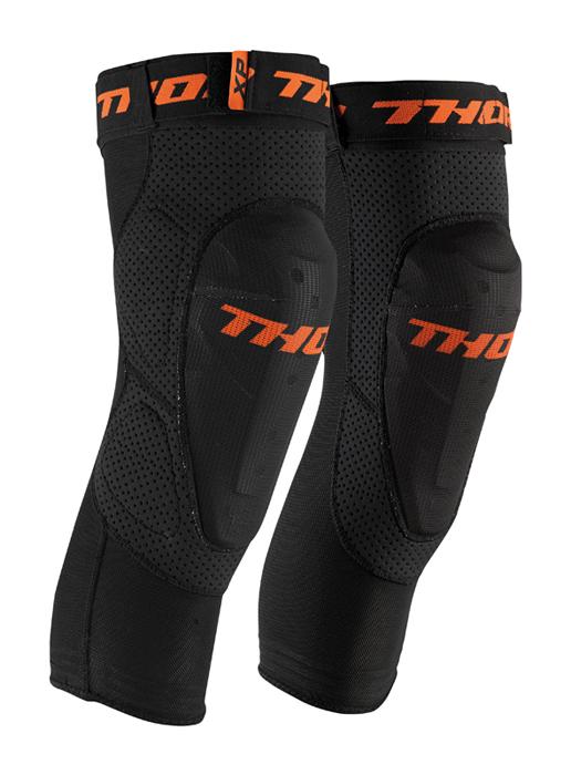 Thor Kniebeschermers Comp XP - Zwart / Oranje
