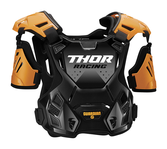 Thor Kinder Bodyprotector Guardian - Zwart / Oranje