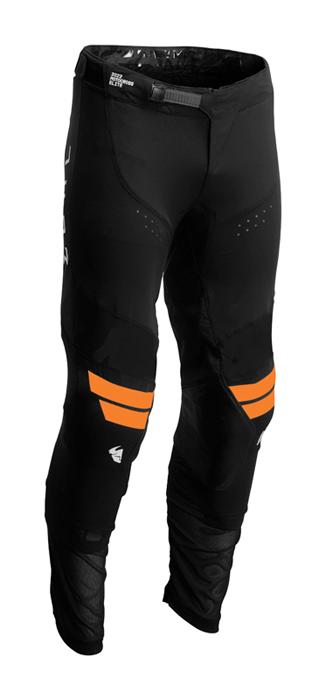 Thor Crossbroek 2022 Prime Hero - Zwart / Fluo Oranje